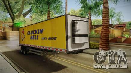 GTA 5 Refrigerated Trailer for GTA San Andreas