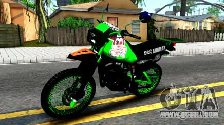 Yamaha DT 175 for GTA San Andreas