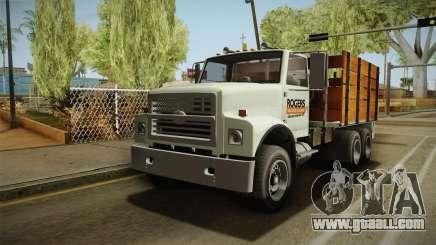 GTA 5 Vapid Scrap Truck Cleaner v2 for GTA San Andreas