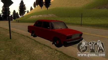 VAZ-2107 for GTA San Andreas