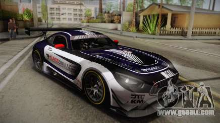 Mercedes-Benz AMG GT3 2016 PJ2 for GTA San Andreas