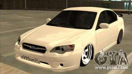 Subaru Legacy for GTA San Andreas