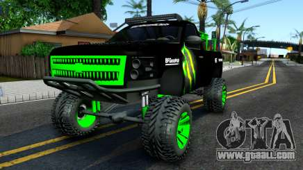 Chevrolet Silverado Monster Energy V2 for GTA San Andreas