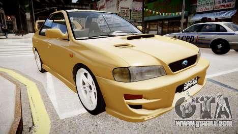 Subaru Impreza GC8 JDM Spec for GTA 4 right view