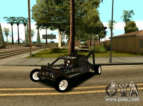 Off Road Car for GTA San Andreas back view