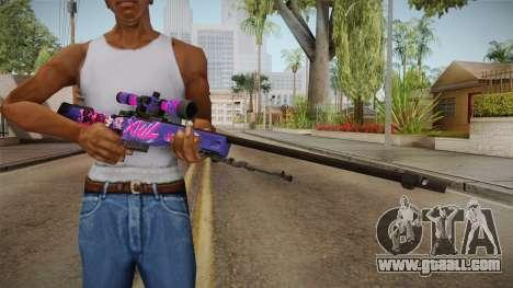 Vindi Halloween Weapon 9 for GTA San Andreas third screenshot