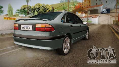 Renault Laguna for GTA San Andreas right view