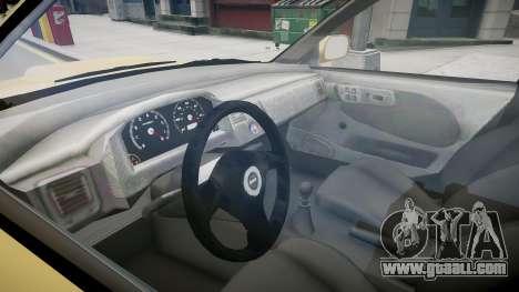 Subaru Impreza GC8 JDM Spec for GTA 4 inner view