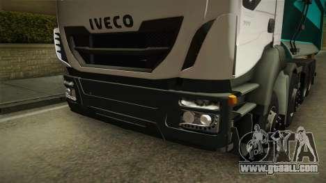 Iveco Trakker Hi-Land Dumper 8x4 v3.0 for GTA San Andreas