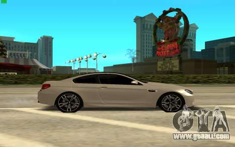BMW M6 Gran Coupe for GTA San Andreas left view