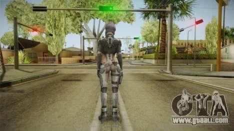 Ghost in the Shell - Motoko Kusanagi for GTA San Andreas third screenshot