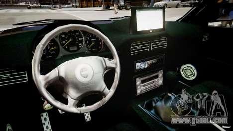 Subaru Forester 1997 v1.0 for GTA 4 inner view