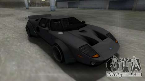 2005 Ford GT Rocket Bunny for GTA San Andreas back view