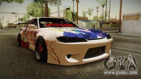 Nissan Silvia S15 Rocket Bunny Itasha for GTA San Andreas right view