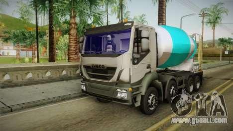 Iveco Trakker Hi-Land Cement Mixer 8x4 v3.0 for GTA San Andreas