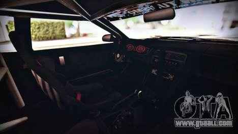 Elegy Hellcat 2.0 for GTA San Andreas back view