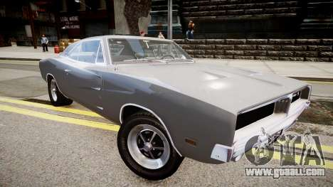 Dodge Charger RT 1969 for GTA 4 right view