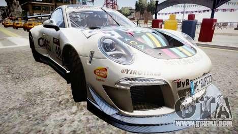 Porsche 911 GT3 Project CARS for GTA 4