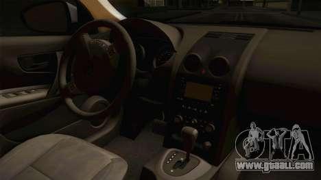 Nissan Qashqai for GTA San Andreas side view