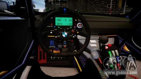 BMW M3 GT2 Ultimate Drift for GTA 4 inner view