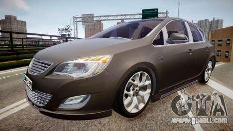 Opel Astra Senner for GTA 4