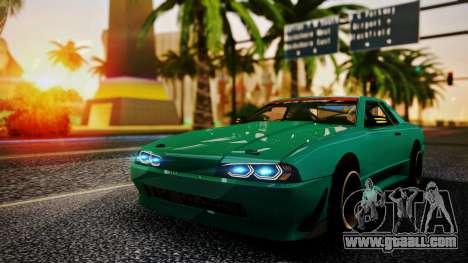 Elegy Hellcat 2.0 for GTA San Andreas back left view
