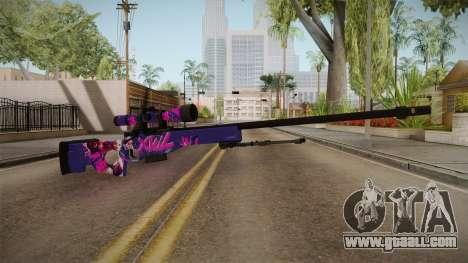 Vindi Halloween Weapon 9 for GTA San Andreas