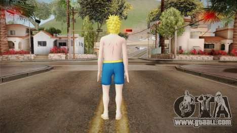Minato Swimsuit for GTA San Andreas third screenshot