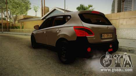Nissan Qashqai for GTA San Andreas right view
