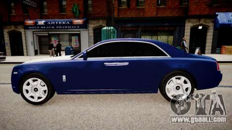 Rolls-Royce Ghost 2013 for GTA 4 left view