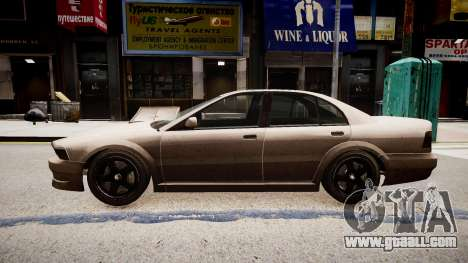 Maibatsu Vincent Tuning for GTA 4 left view