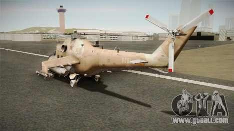 CoD Series - Mi-24D Hind Desert for GTA San Andreas