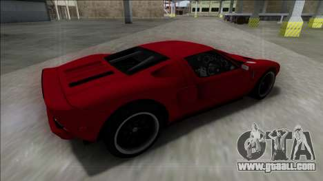 2005 Ford GT for GTA San Andreas left view