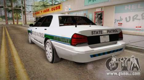 Brute Stainer 2008 San Andreas State Police for GTA San Andreas left view