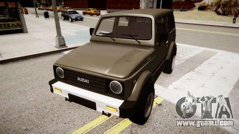 Suzuki Samurai v1.0 for GTA 4 right view