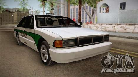 Declasse Premier 1993 Angel Pine Police for GTA San Andreas right view