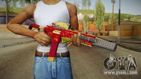 Deadshot Style Carabine for GTA San Andreas third screenshot