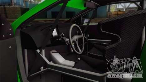 Hyundai i20 WRC 2013 for GTA San Andreas inner view