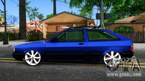Volkswagen Gol GTI Troll Face for GTA San Andreas left view