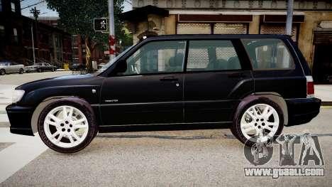 Subaru Forester 1997 v1.0 for GTA 4 left view