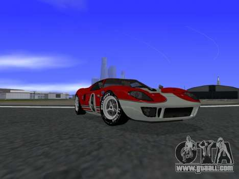 Ford GT40 for GTA San Andreas