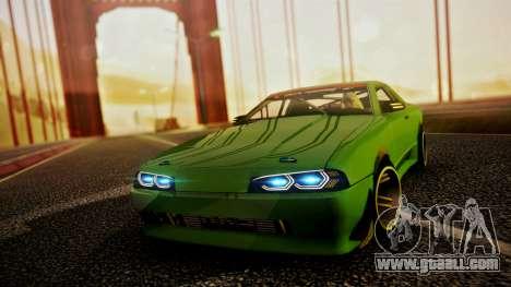 Elegy Hellcat 2.0 for GTA San Andreas