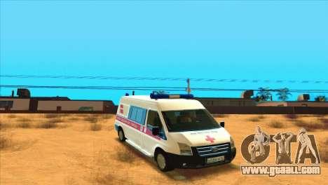Ford Transit Ambulance for GTA San Andreas