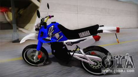 Yamaha DT 175 1999 for GTA San Andreas left view