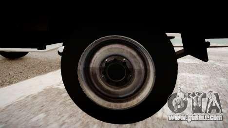 Suzuki Samurai v1.0 for GTA 4 back view