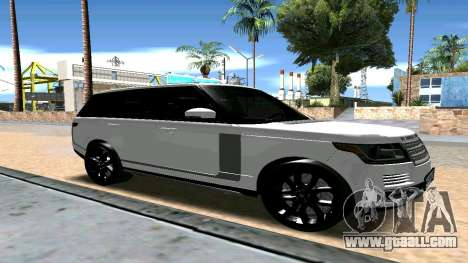 Range Rover for GTA San Andreas right view
