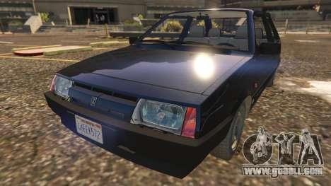 GTA 5 VAZ-2108 back view