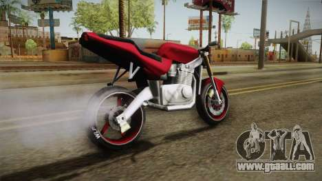 New BF-400 for GTA San Andreas right view