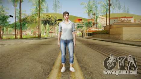 GTA 5 Online Skin Female Mail for GTA San Andreas second screenshot