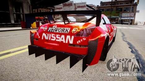 Nissan 350Z JGTC Motul Pitwork for GTA 4